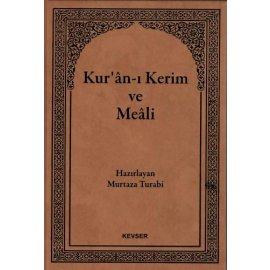 Kuran-ı Kerim ve Meali (Hafız Boy)