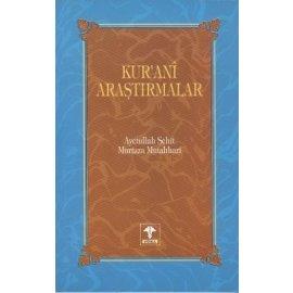 Kur'anî Araştırmalar c. 1
